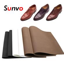 Sunvo gumowe podeszwy butów łatka es dla wkładka do butów antypoślizgowe podeszwy wkładki pełna podeszwa łatka podeszwy buty klocki tanie tanio CN (pochodzenie) ≤1cm Średnie (b m) Thick Rubber Outsoles Insoles Stałe Anti-śliskie Wytrzymałe Anti-slip Business Shoes