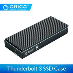ORICO Thunderbolt 3 NVME M.2 SSD Enclosure Support 2TB 40Gbps Aluminum SSD Case USB C with Thunderbolt 3 C to C Cable For Laptop