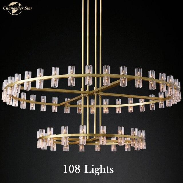 Постмодерн роскошный подвесной светильник для спальни гостиной