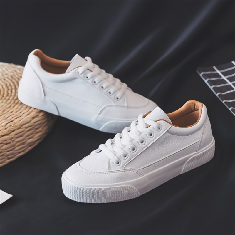 Women Sneakers Fashion Shoes Spring Trend Casual Flats Sneakers Female New Fashion Comfort White  Vulcanized Platform Shoes
