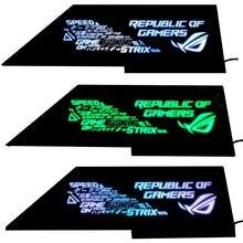 ASUS ROG Strix Helios GX601 – Chasis Power Warehouse, panneau de buffet personnalisé, AURA 12V 4 broches ou 5V 3 broches
