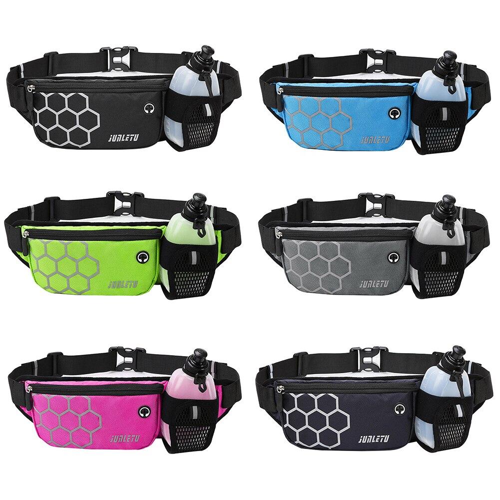 Running Waist Belt Bag Multifunctional Waterproof Sports Pocket Pouch Belt Pack Non-slip Gym Sports Cycling Phone Bag