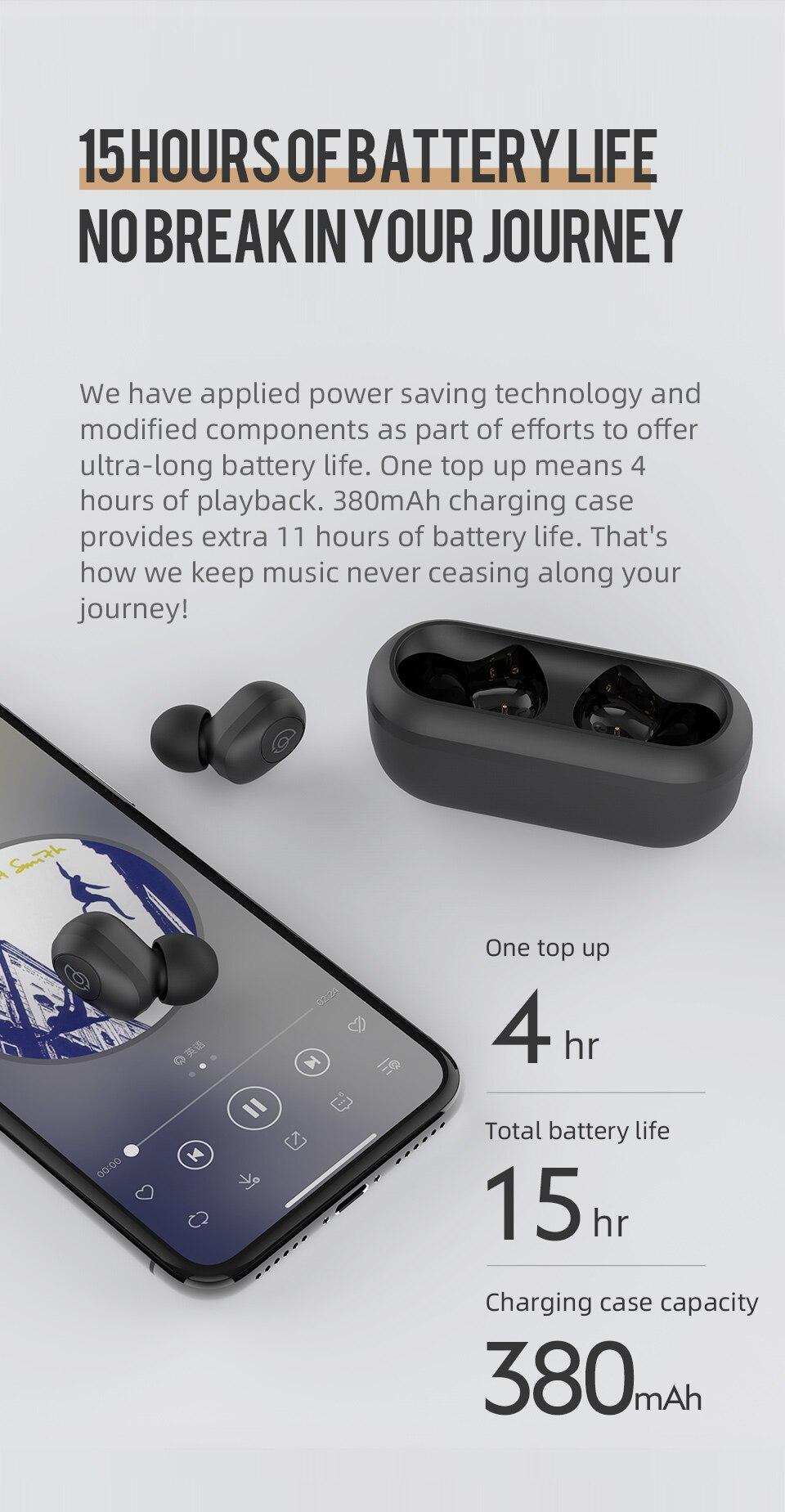 Haylou GT2 TWS True Wireless Bluetooth 5.0 Earphone