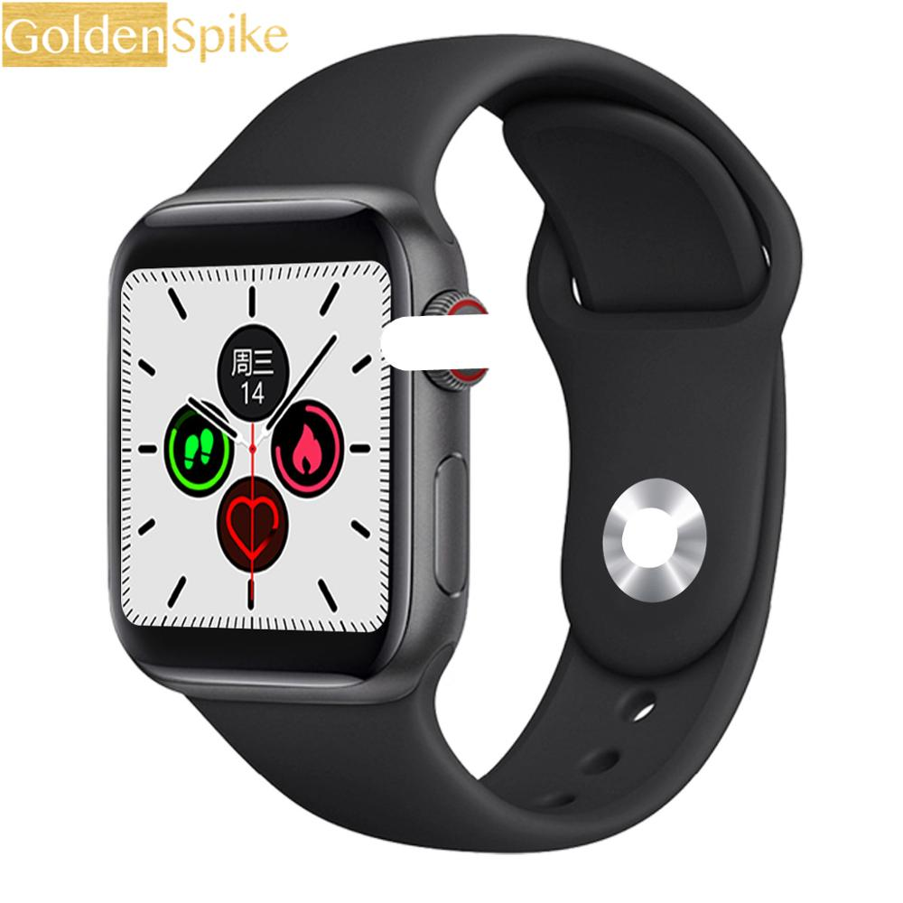 IWO 13 Smart Uhr Männer 1,54 Zoll Full Touch HD Alle Tag Helle Display Herz Rate Monitor Für Apple IOS android Telefon Smartwatch