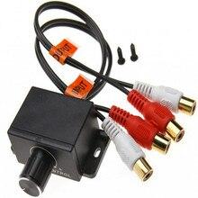 Universal Car Automobile Home Audio Amplifier Bass 2 RCA Lev
