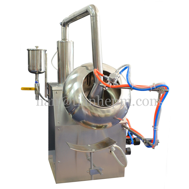 Machine de revêtement de Film-machine de revêtement de comprimé pharmaceutique de revêtement de comprimé de BYC400