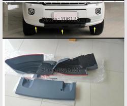 Dla LAND rovera LR2 FREELANDER 2 Freelander 2 plastik ABS niepomalowany przedni spojler zderzaka dla Land rovera Freelander 2 w Chromowane wykończenia od Samochody i motocykle na