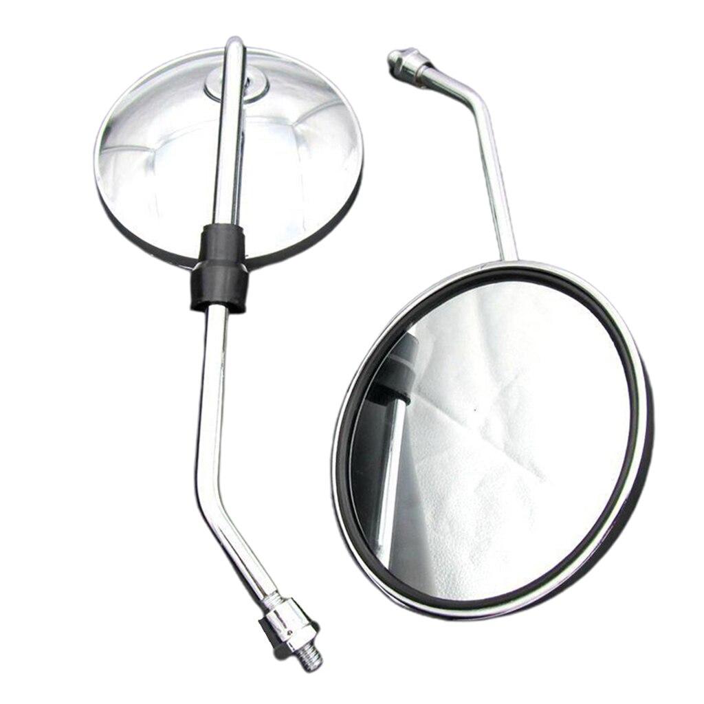 1 пара зеркало заднего вида Замена для мотоцикла Скутер мопед ATV Байк|Боковые зеркала и аксессуары|   | АлиЭкспресс