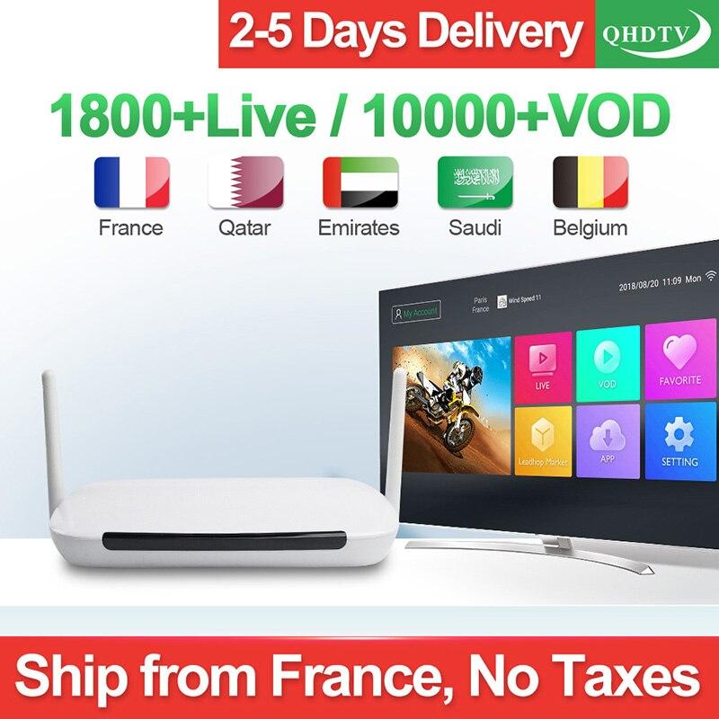 IP Tv Франция Арабский IP Tv 1 год QHD ТВ подписка Leadcool Q9 Android 8,1 код коробки IP Tv Бельгия голландский Арабский IP Tv Франция