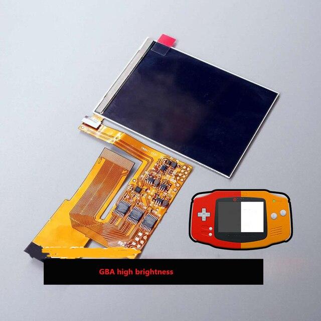 10 niveaux haute luminosité IPS écran LCD pour Nintendo jeu garçon avance GBA Console de jeu rétro-éclairage écran réglable pièces de réparation