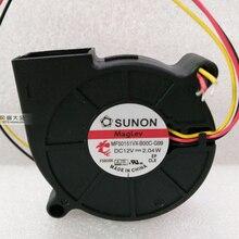 Nowy SUNON DC12V 2.04W MF50151VX-B00C-G99 5015 wentylator 50X50X15MM wentylator chłodzący dla Arduino