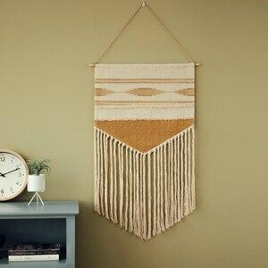 Висячие, гобелены в стиле бохо, винтажная ткань, макраме, украшение для отеля, подвесное одеяло, домашний офис, Настенный декор для комнаты