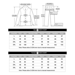 Image 2 - Winter Velvet Thick Thermal Underwear For Men WomanWinter Warm Layered Clothing Pajamas Set Thermal Set Male Long Johns Hot Dry
