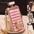 Coque de luxe en diamant avec strass pour Samsung Galaxy S20 Ultra S10 Plus S10E S9/ S8 Plus S7 Note 10 Plus 9 8