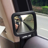 CHIZIYO 270 Degrees Wide Angle Car Rear Magnet Mirror Car Auxiliary Rearview Mirror Eliminate Blind Point For Car Safety