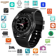2019 New Smart Watch Men Women Bluetooth Touch Screen Waterproof Sports Smartwatch Support SIM Card Reloj inteligente +Box