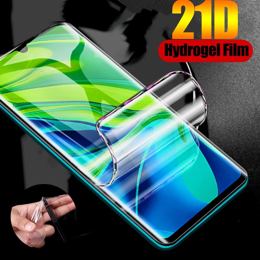 21D полная Гидрогелевая пленка для Asus Zenfone Max Pro M2 ZB631KL M2 ZB633KL ZS630KL ZB601KL ZB602KL Защитная пленка для экрана (не стекло)