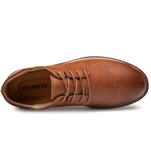 Осенняя модная роскошная мужская повседневная обувь; Классическая обувь из натуральной кожи на плоской подошве; мужские официальные оксфорды; модельные туфли; zapatos hombre;