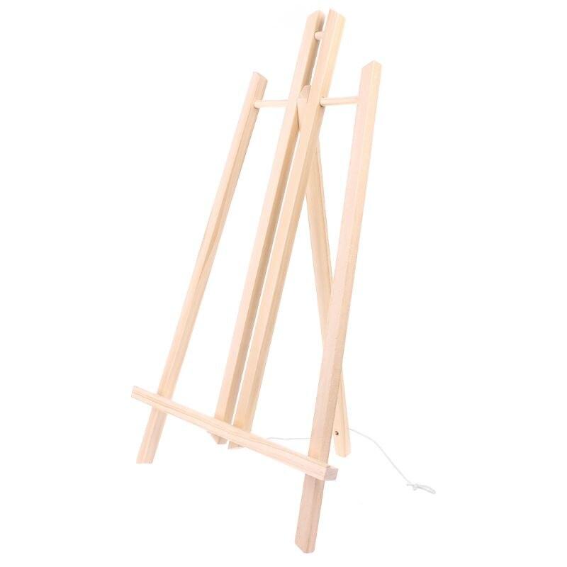 Hot Koop 50 Cm Houten Schildersezel Reclame Tentoonstelling Display Plank Houder Studio Schilderen Stand