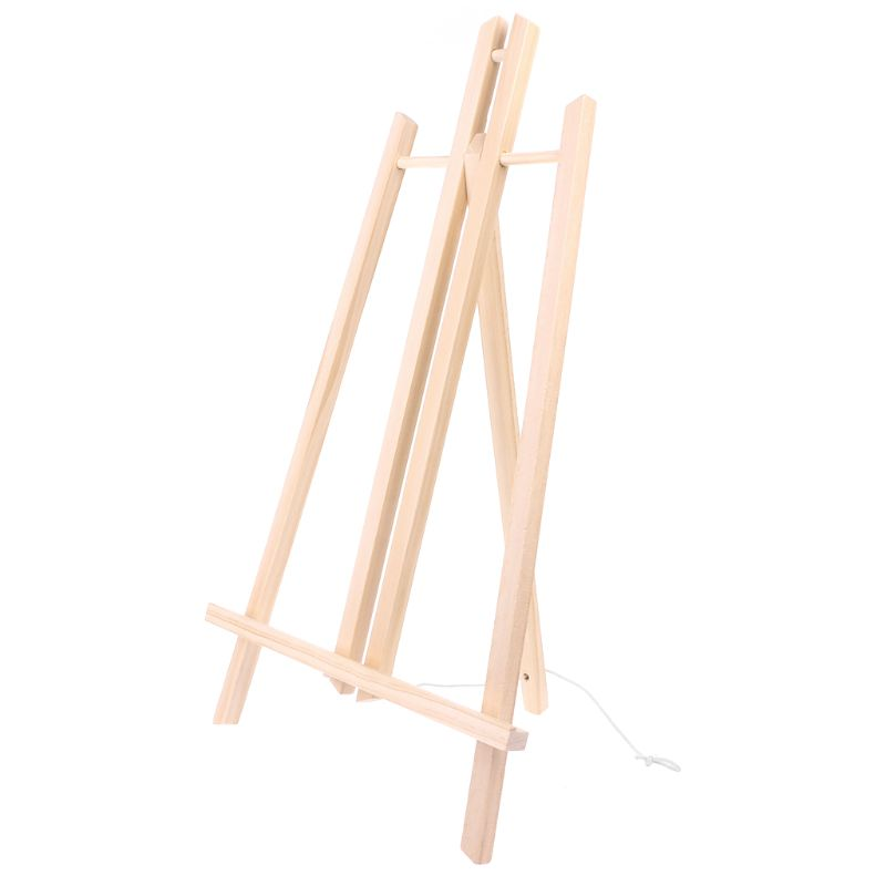 Hot Sale 50cm Wood Easel Advertisement Exhibition Display Shelf Holder Studio Painting Stand