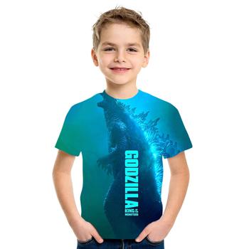 Nowe jurajskie koszulki z nadrukiem koszulki z zabawnym nadrukiem dziecięce koszulki 3d koszulki chłopięce i dziewczęce tanie i dobre opinie POLIESTER CN (pochodzenie) Lato 13-24m 25-36m 4-6y 7-12y 12 + y Damsko-męskie Na co dzień W stylu rysunkowym REGULAR Z okrągłym kołnierzykiem