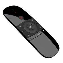 Mini Luft Maus W1 Drahtlose Tastatur 2,4G Name Sensing Fly Air Maus Für 9,0 8,1 Android TV Box/ PC/TV