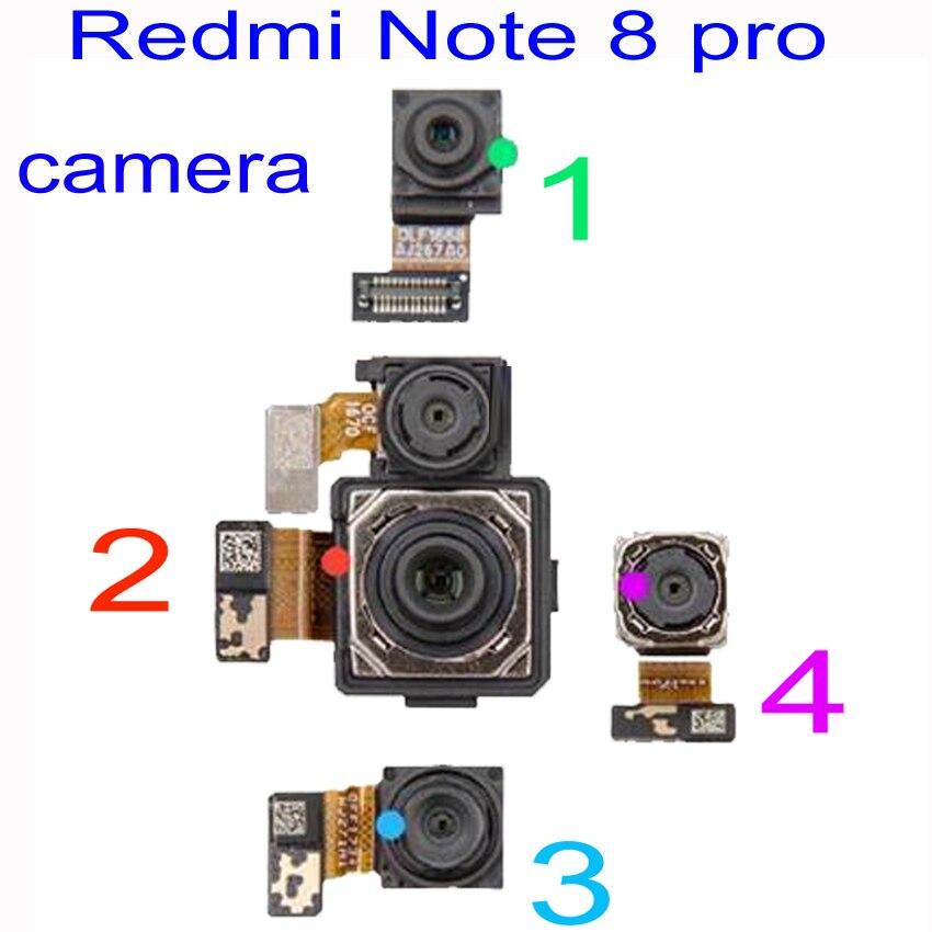 Original LTPro Camera For Xiaomi Redmi Note 8 Pro Rear Back Big Module Flex Cable/ Front Facing Wide Angle Macro Camera Depth