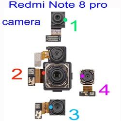 Oryginalna kamera LTPro dla Xiaomi Redmi Note 8 Pro tylny tył duży moduł Flex Cable/przednia kamera szerokokątna makro