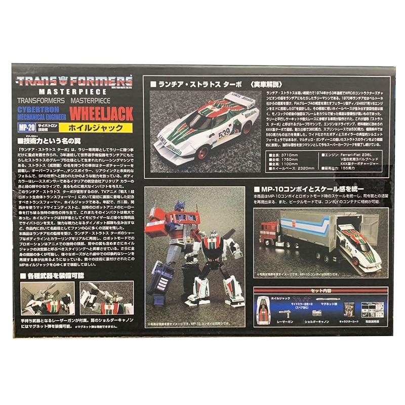 TAKARA TOMY Transformers  MP-20 Wheeljack KO Version 18CM Action Figure In Box