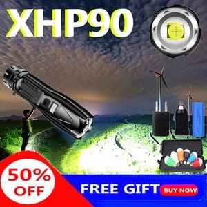 Super Bright XHP90 LED Flashli