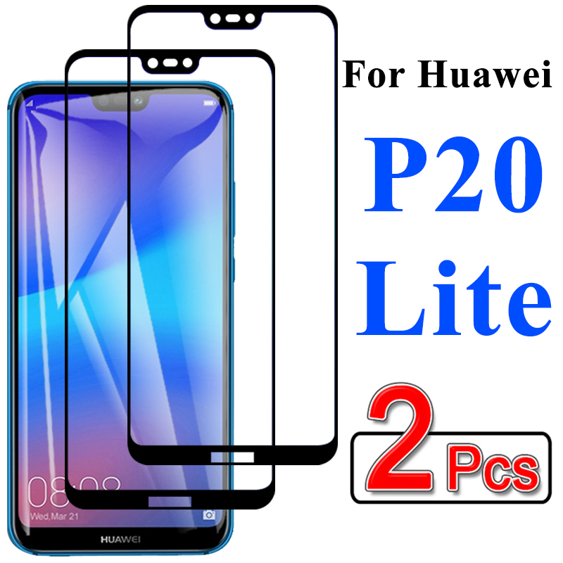 Protective Glass On For Huawei P20 Lite P 20 20P Light P20lite Screen Protector Hauwei Huiwei Tempered Film Protect Protection