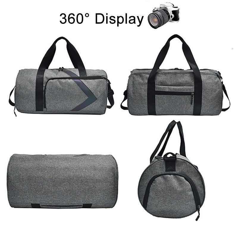 Dry And Wet Fitness Bag Fashion Gym Tas Sac A Dos Sport Outdoor Women Sports Bags For Men Gym Bag Shoe Compartment Training Bag 3