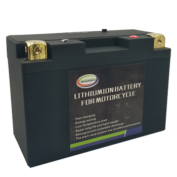 20L-BS 12V 20AH Motorcycle Battery LiFePO4 Fe CCA600A Size175x87x155mm Bulit-in BMS Voltage Protection Lithium Phosphate ion Battery