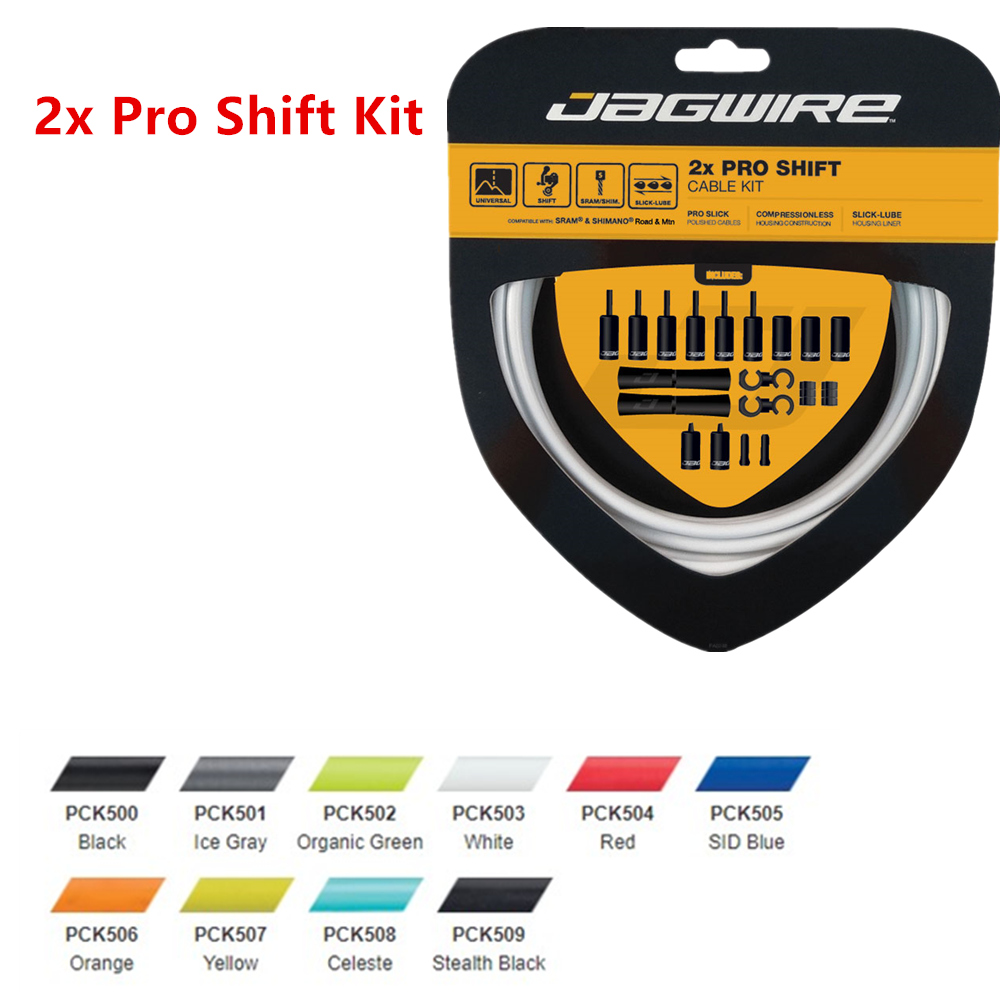 Complete-Cable-Kit Pro-Shift-Kit JAGWIRE And RACER ROAD RD-R9100 10-Color 2x title=