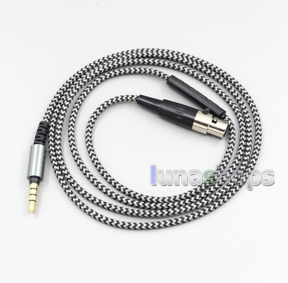 Hi-OFC With Mic Remote Headphone <font><b>Cable</b></font> For AKG Q701 <font><b>K702</b></font> K271s 240s K271 K272 K240 K141 K171 K181 K267 K712 LN004962 image
