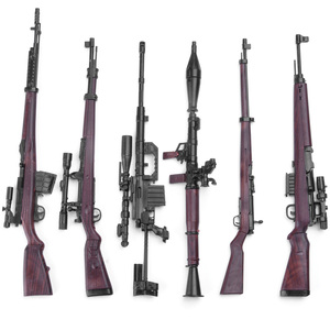 1:6 Gun Model Plastic Assemble Soldier Gun For 12