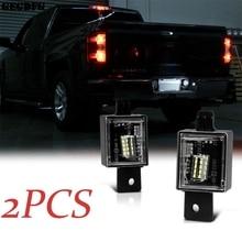 High-light Bright LED Car License Plate Light Housing for 2014-2018 Chevy Silverado GMC Sierra