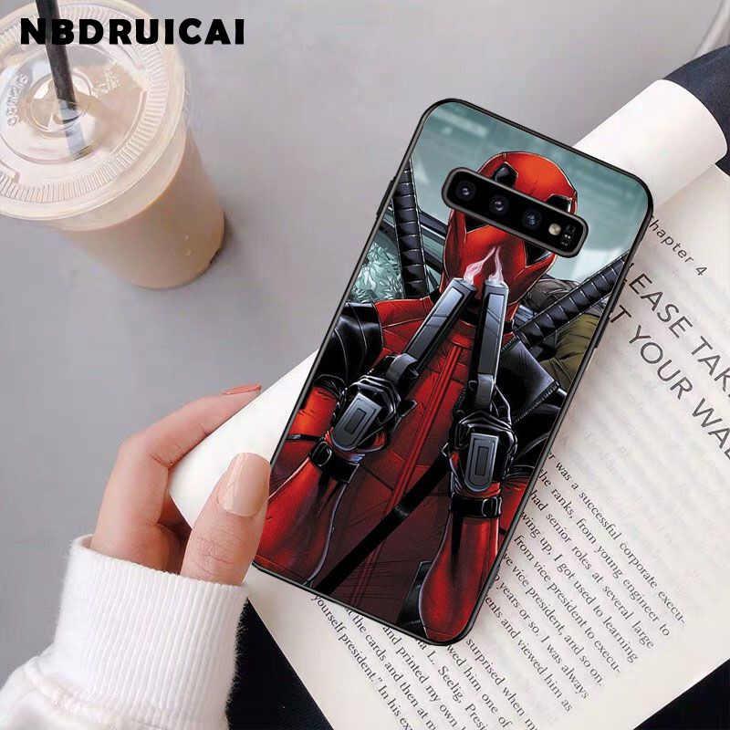 NBDRUICAI Marvel Avengers Heros çizgi roman kolaj telefonu samsung kılıfı S9 artı S5 S6 kenar artı S7 kenar S8 artı S10 E s10 artı