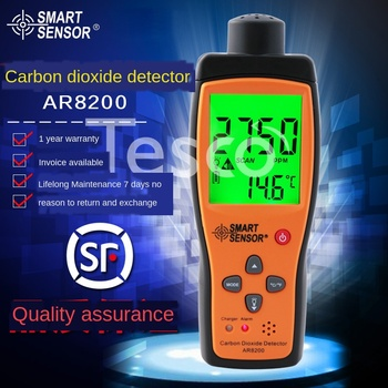 цена на Handheld portable carbon dioxide detector industrial grade CO2 gas test home analyzer