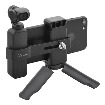 Phone Holder Clip for Osmo Pocket 2 Foldable Tripod Gimbal Bracket Mount Quick Release Design DJI Accessories - discount item  27% OFF Camera & Photo