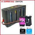 Чернила DMYON 301 для принтеров HP  чернильные картриджи для Deskjet 1050 2050s 3050 4500 4502 4504 5530 5532 5539