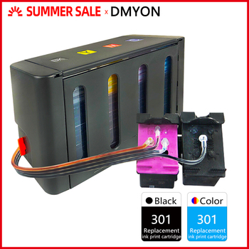 DMYON 301 CISS Bulk Ink Compatible for HP for Deskjet 1050 2050 2050s 3050 4500 4502 4504 5530 5532 5539 Printer Ink Cartridge цена 2017