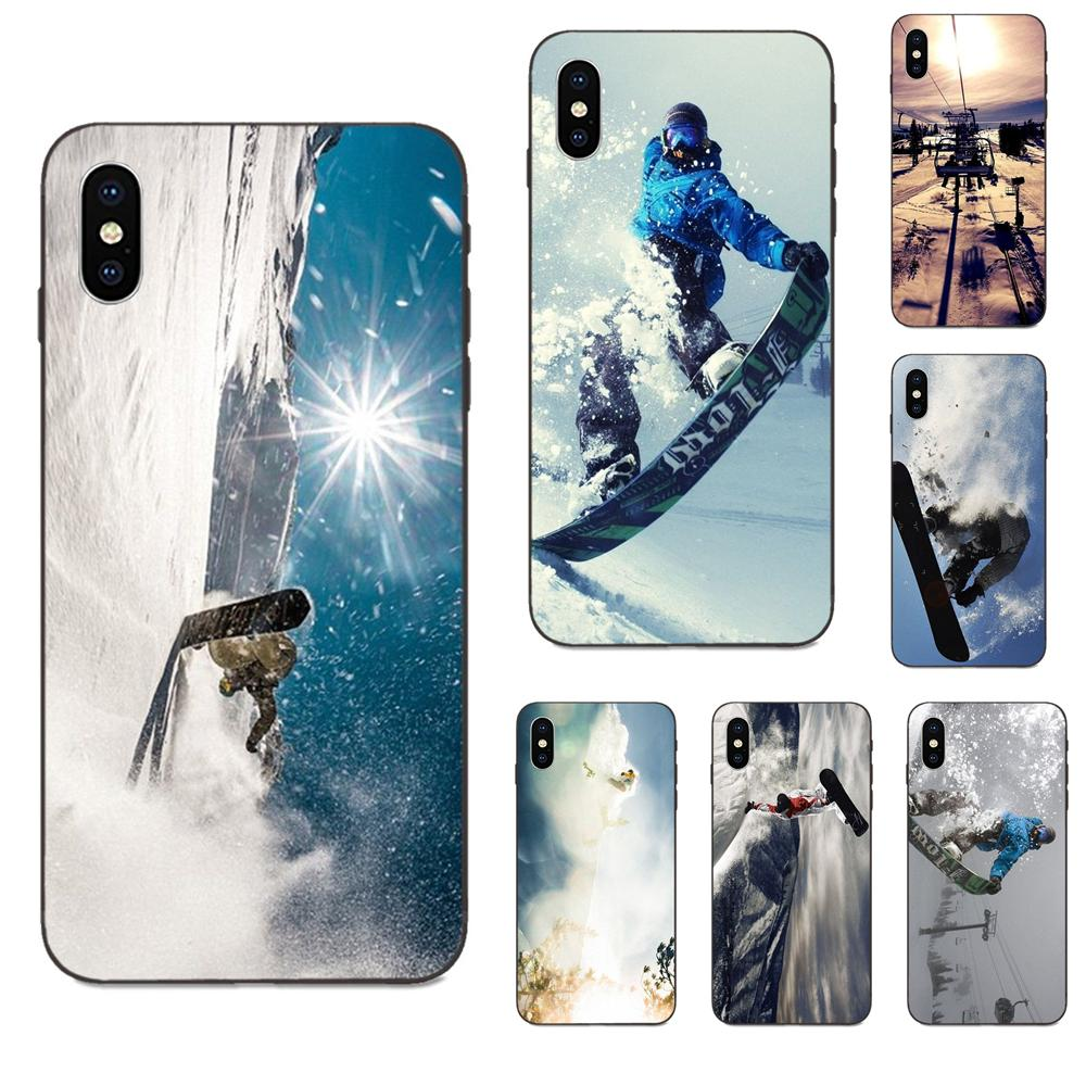 Awesome Love Snow Or Die Ski Snowboard For Galaxy C5 C7 J1 J2 J3 J330 J5 J6 J7 J730 M20 M30 Ace Core Max Mini Plus Prime Pro