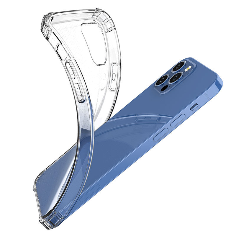 Чехол-накладка для iPhone XS XR, мягкий ударопрочный ТПУ чехол для iPhone 7, 8, 12 Pro Max, iPhone 11 Pro, тонкий прозрачный чехол-накладка