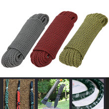 9 Core High Strength Paracord Rescue Tying Tent Lanyard Camping Rope for Outdoor Bracelet Weaving Safety Survival Accessory(China)