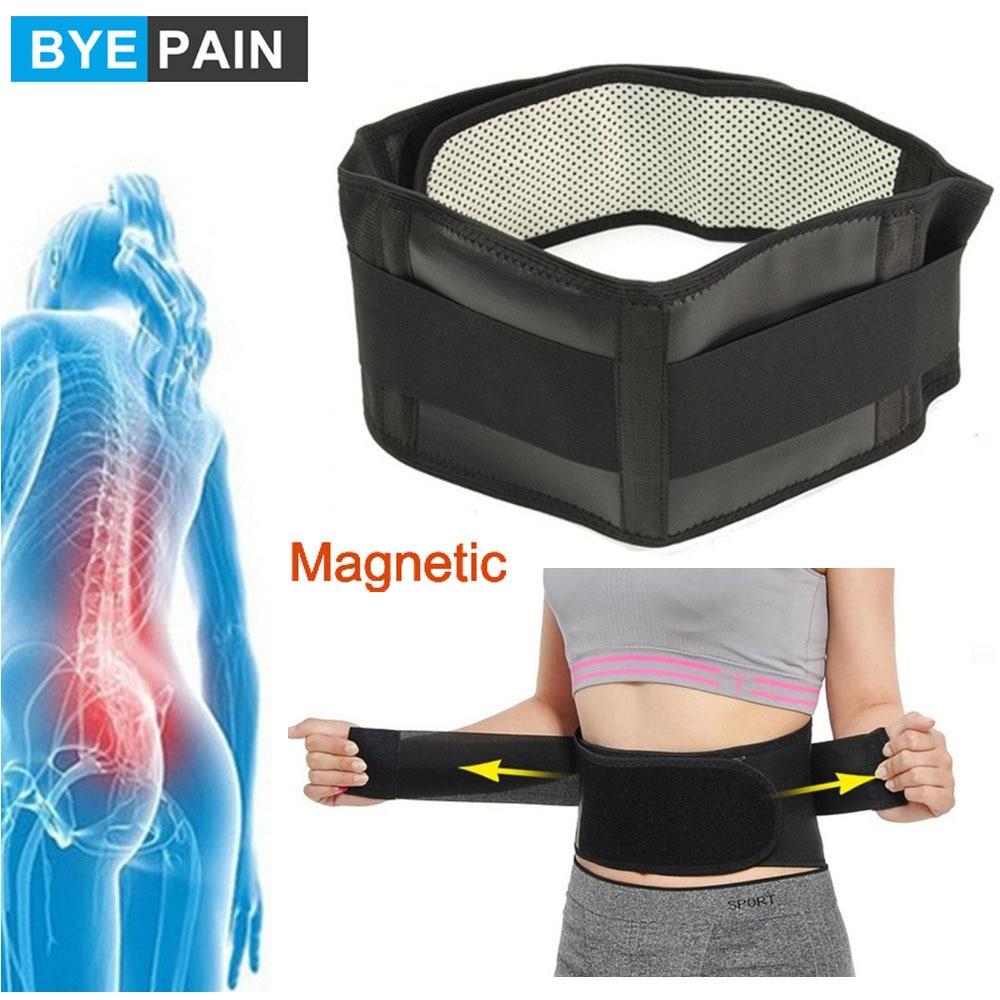 Турмалиновый самонагревающийся магнитный терапевтический пояс BYEPAIN для поддержки талии, поддержка поясницы, спины, талии, регулируемый дво...