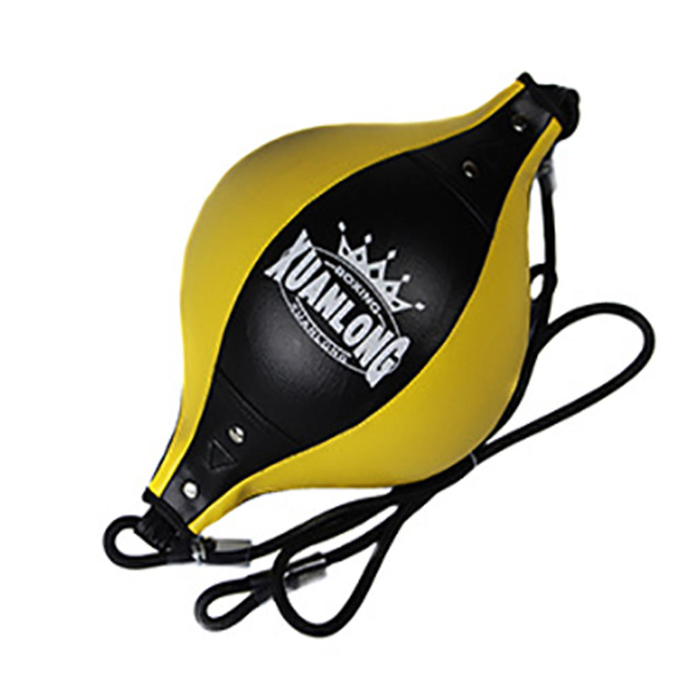 Sports Bodybuilding Hanging Fitness Equipment Boxing Speed Ball Adult With Inflator Punching Bag Pear PU Leather Double End Gym