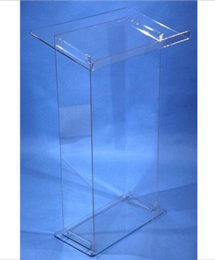 Acrylic Rostrum Lectern Podium Minister's Desk Plexiglass