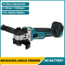 Angle-Grinder Grinding-Disc Battery-Cutting-Machine For Makita Polisher Cordless 125mm