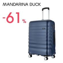 Mandarina Duck – valise PC légère à 4 roues de 20 à 24 pouces, avec serrure TSA, pour les voyages et les affaires